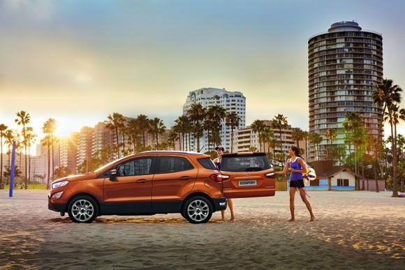 Ford EcoSport: Ngôn ngữ thiết kế thực dụng, mang đến trải nghiệm thân thiện với mọi gia đình