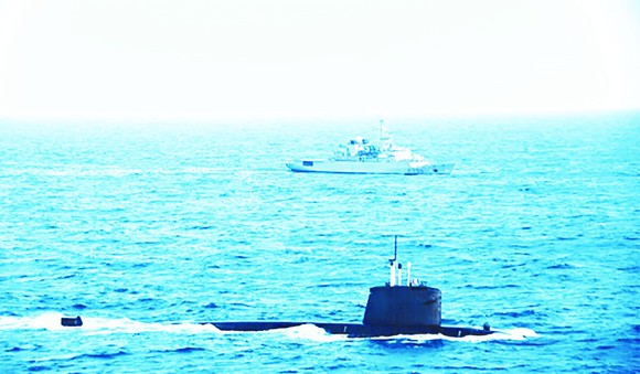 Tàu ngầm SNA Emeraude của Pháp từng thực hiện tuần tra ở Biển Đông