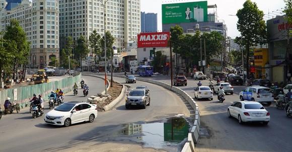 Đường Nguyễn Hữu Cảnh sẽ được thông xe vào ngày 30-4 tới. Ảnh: VOV