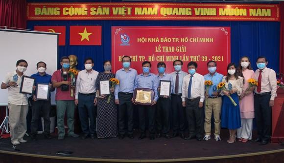 Báo SGGP đoạt 8 giải Báo chí TPHCM năm 2021 ảnh 8