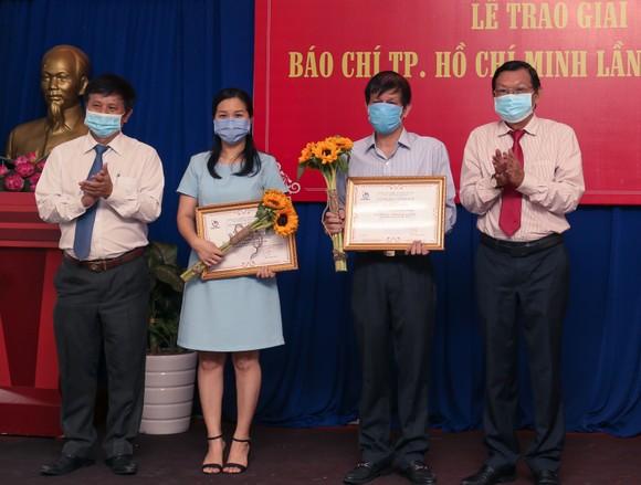 Báo SGGP đoạt 8 giải Báo chí TPHCM năm 2021 ảnh 4