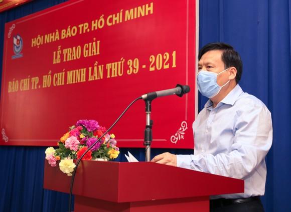 Báo SGGP đoạt 8 giải Báo chí TPHCM năm 2021 ảnh 2