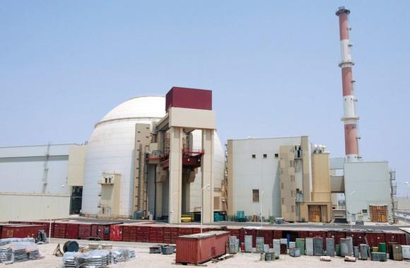 Bushehr, nhà máy điện hạt nhân duy nhất ở Iran đã buộc phải ngừng hoạt động khẩn cấp vì lý do kỹ thuật. Ảnh: SPUTNIK