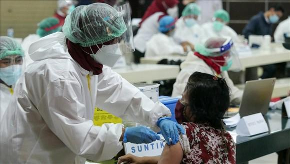 Indonesia đang đẩy mạnh chương trình tiêm vaccine phòng Covid-19