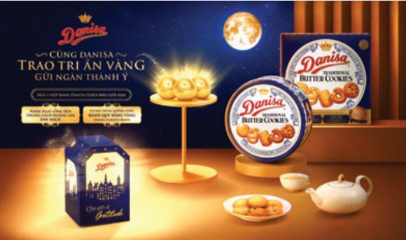 Cùng Danisa trao tri ân vàng, gửi ngàn thành ý