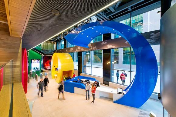 Văn phòng Google tại Dublin, Ireland