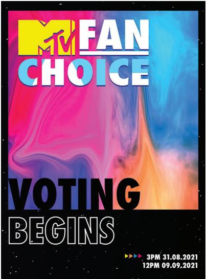 Khởi động MTV FAN CHOICE 2021