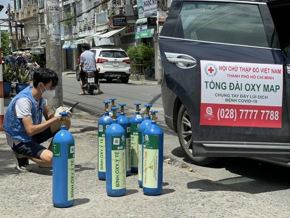 Hỗ trợ bình oxy miễn phí cho nhiều quận huyện và TP Thủ Đức ảnh 3