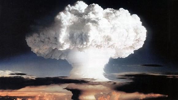 Mỹ tiến hành cuộc thử nghiệm hạt nhân hồi năm 1952. Nguồn: news.un.org