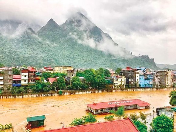 Torrential rains hit northern mountainous region  