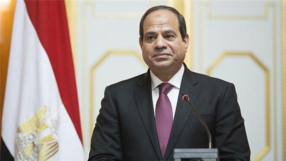Tổng thống Ai Cập Abdel-Fattah El-Sisi. Ảnh: Alleastafrica