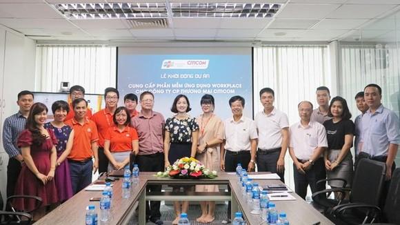 Đại diện FPT IS và Citicom tham gia Lễ khởi động dự án triển khai Workplace cho Citicom