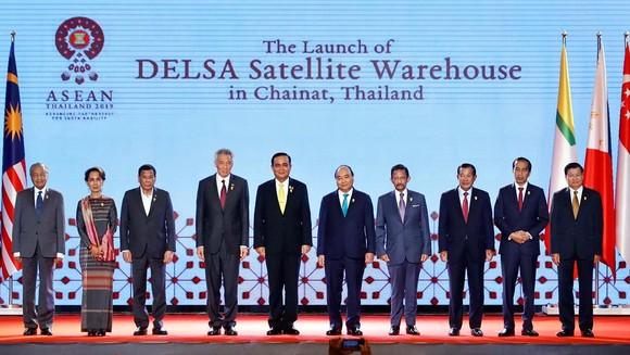 Thủ tướng Nguyễn Xuân Phúc cùng các nhà lãnh đạo ASEAN tại Hội nghị cấp cao ASEAN lần thứ 34. Ảnh: TTXVN