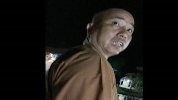 Sư Thích Thanh Toàn. Ảnh cắt từ clip báo Phụ nữ TPHCM
