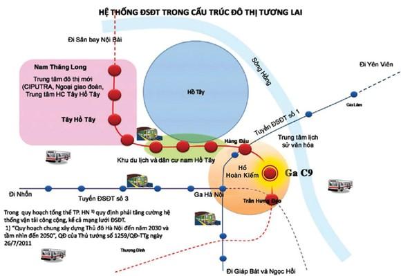 Có nên đặt ga tàu điện ngầm sát hồ Hoàn Kiếm? ảnh 2