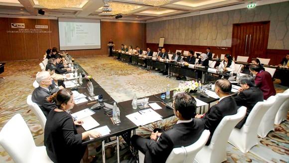 Các nước tìm kiếm thỏa thuận chung tại Hội nghị bàn tròn Tầm nhìn ASEAN 2040. Ảnh: Bangkok Post