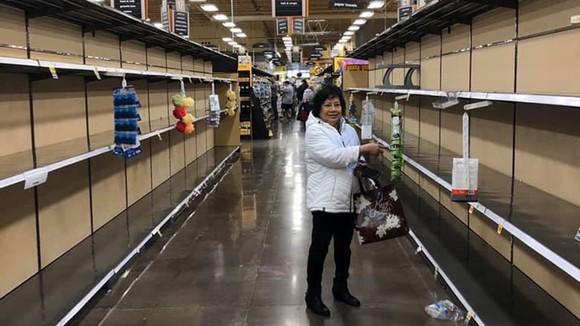 Một siêu thị cháy hàng tại TP Portland, bang Oregon, Mỹ