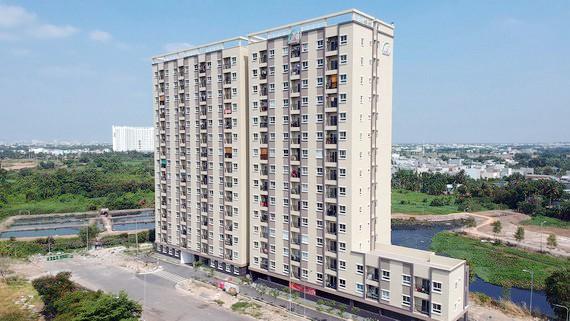 Dự án căn hộ tại phường Bình Chiểu (quận Thủ Đức, TPHCM). Ảnh: CAO THĂNG