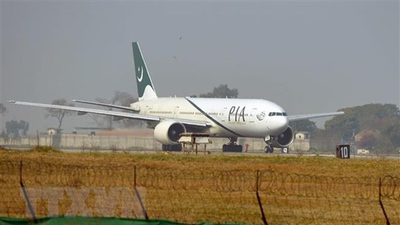 Máy bay của hãng hàng không quốc tế Pakistan (PIA). Ảnh: TTXVN