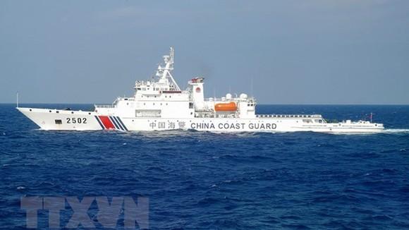 Tàu hải cảnh Trung Quốc. Ảnh minh họa: TTXVN