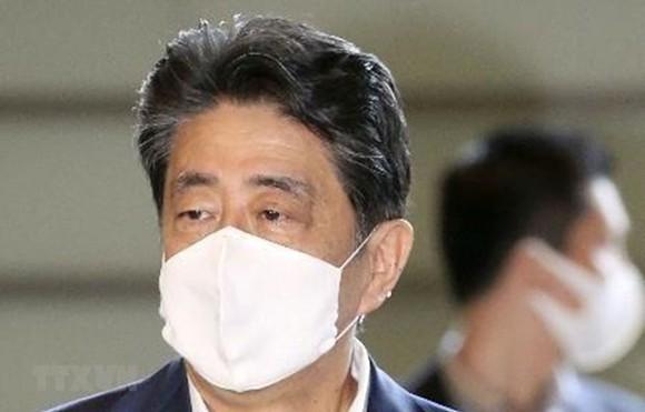 Thủ tướng Nhật Bản Shinzo Abe có ý định từ chức vì lý do sức khỏe. Ảnh: Kyodo/TTXVN