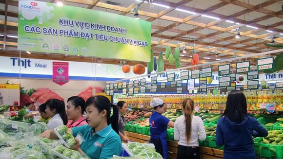 Hàng nông sản của các HTX tiêu thụ rộng rãi tại hệ thống Co.opmart