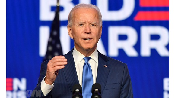 Tân Tổng thống Mỹ Joe Biden. Nguồn: TTXVN
