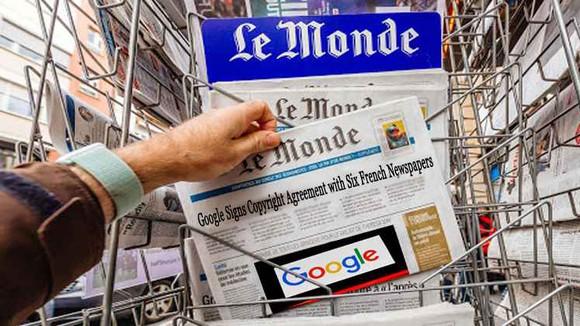 Google từng đạt thỏa thuận bản quyền với một số tờ báo Pháp
