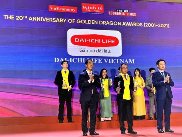Dai-ichi Life Việt Nam được vinh danh lần thứ 12 liên tiếp tại Chương trình Rồng Vàng