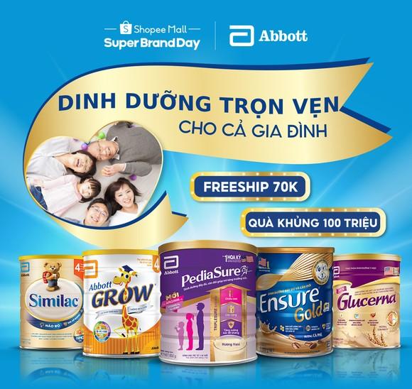 Abbott và Shopee triển khai các hoạt động khuyến khích người Việt ăn uống hợp lý, sống lành mạnh