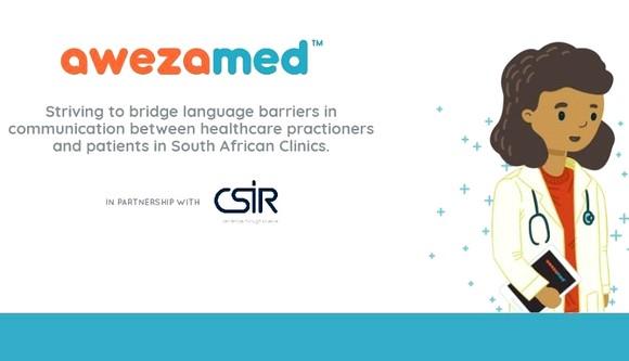 Poster ứng dụng dịch thuật AwezaMed