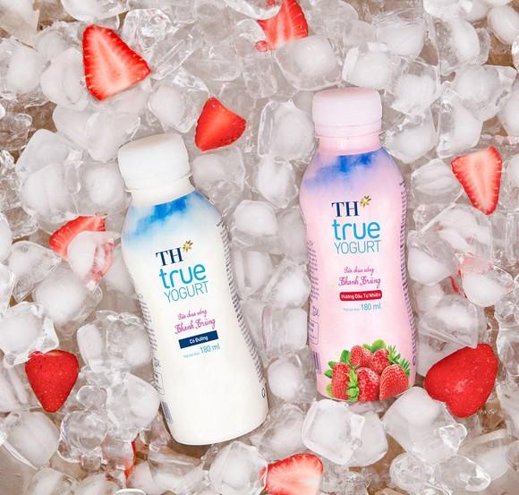 Ra mắt sữa chua uống thanh trùng từ sữa tươi nguyên chất của trang trại TH ảnh 2