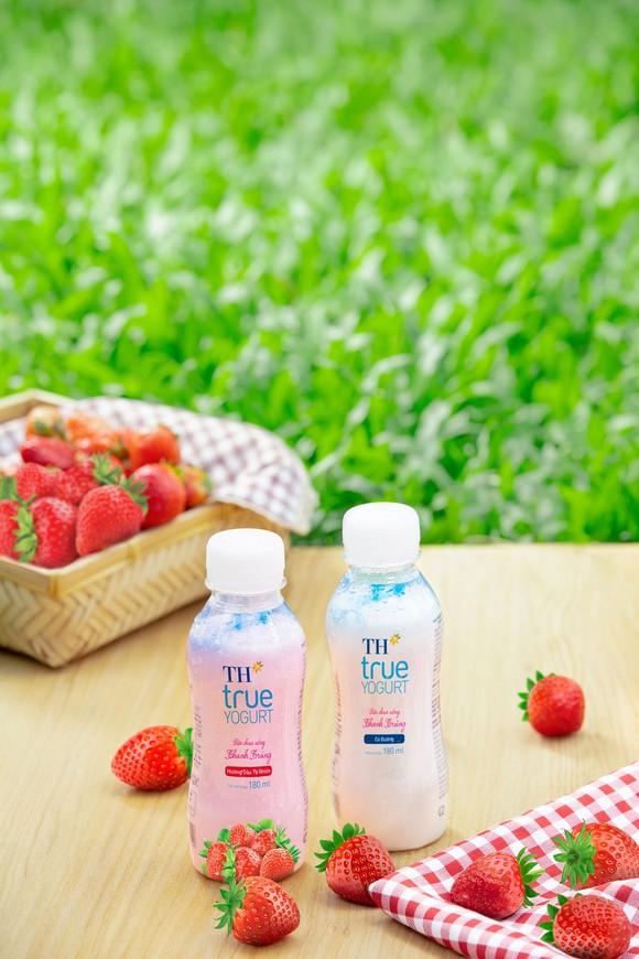 Ra mắt sữa chua uống thanh trùng từ sữa tươi nguyên chất của trang trại TH ảnh 1