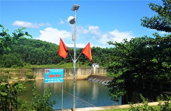 Mô hình loa phát thanh tự động cảnh báo đuối nước. Nguồn: huongkhe.hatinh.gov.vn