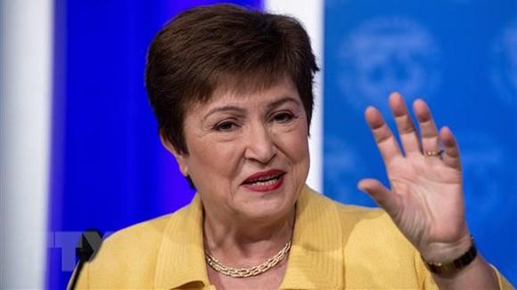 Tổng Giám đốc Quỹ Tiền tệ quốc tế (IMF) Kristalina Georgieva. Ảnh: TTXVN