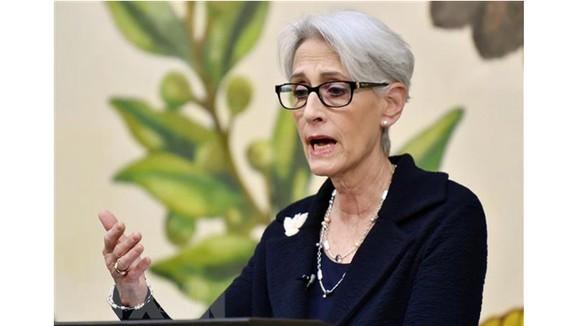 Thứ trưởng Wendy Sherman. Ảnh: TTXVN