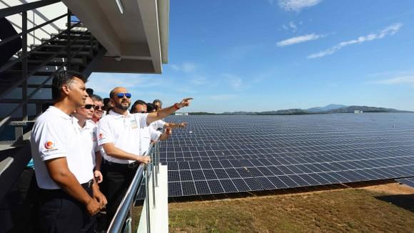 Một nhà máy điện năng lượng Mặt trời ở Malaysia