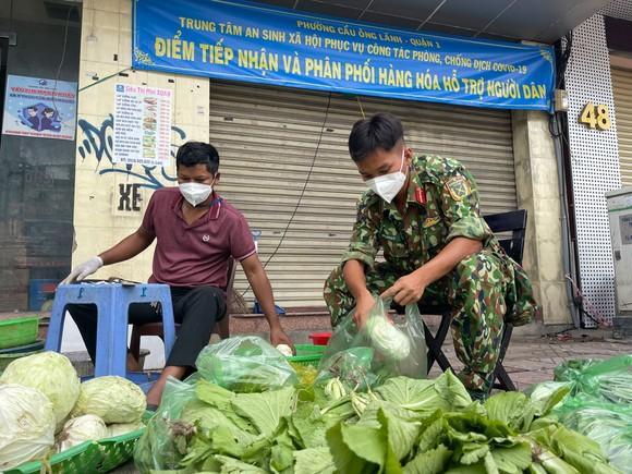 Ngày đầu tiên cán bộ, chiến sĩ xuất quân phòng, chống dịch trên địa bàn TPHCM ảnh 11