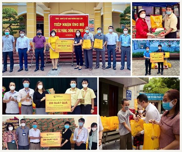 CBNV T&T Group trao tặng 3.000 suất quà cho người dân Hà Nội gặp khó khăn do Covid-19 ảnh 3