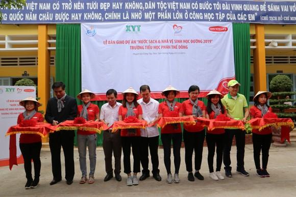 """Quỹ """"Vì cuộc sống tươi đẹp"""" tiếp tục bàn giao công trình nước sạch tại Tiền Giang"""