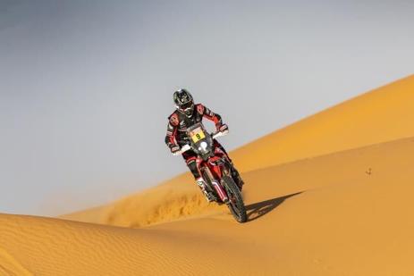 Tay đua Ricky Brabec giành chiến thắng Dakar 2020- chiến thắng của Honda sau 31 năm tại giải đấu này ảnh 1