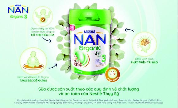 Nan Organic 3 và Gerber Organic - dinh dưỡng hữu cơ cho trẻ ảnh 1