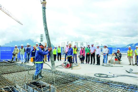 Hòa Bình cất nóc vượt tiến độ dự án Lady Hill Resort, Sa Pa ảnh 2