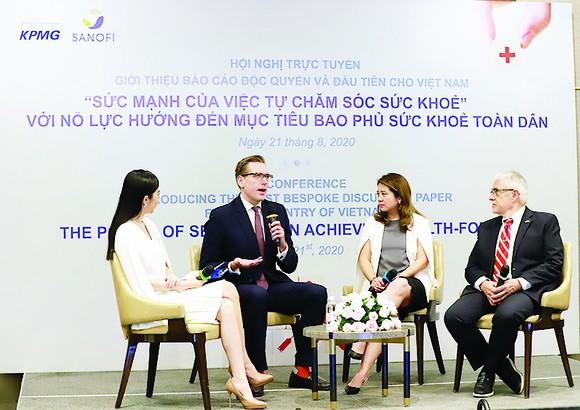 Sanofi và KPMG giới thiệu báo cáo đầu tiên về tự chăm sóc sức khỏe tại Việt Nam