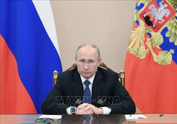 Tổng thống Nga Vladimir Putin. Ảnh: AFP/TTXVN
