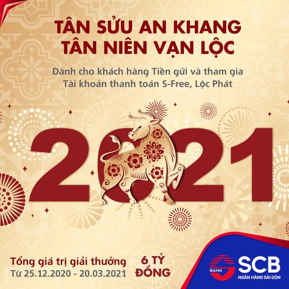 SCB triển khai chương trình khuyến mại lớn nhất năm với tổng giá trị giải thưởng 6 tỷ đồng