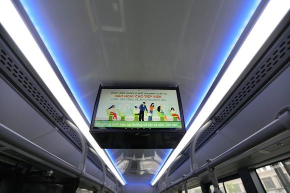 VinBus chính thức vận hành xe buýt điện thông minh đầu tiên tại Việt Nam ảnh 6