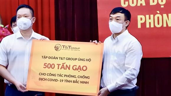 T&T Group ủng hộ 1.000 tấn gạo và 5 tỷ đồng tiếp sức cho Bắc Ninh, Bắc Giang chống dịch ảnh 1