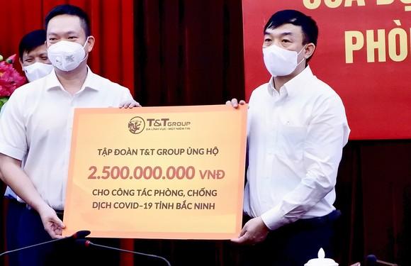 T&T Group ủng hộ 1.000 tấn gạo và 5 tỷ đồng tiếp sức cho Bắc Ninh, Bắc Giang chống dịch ảnh 2