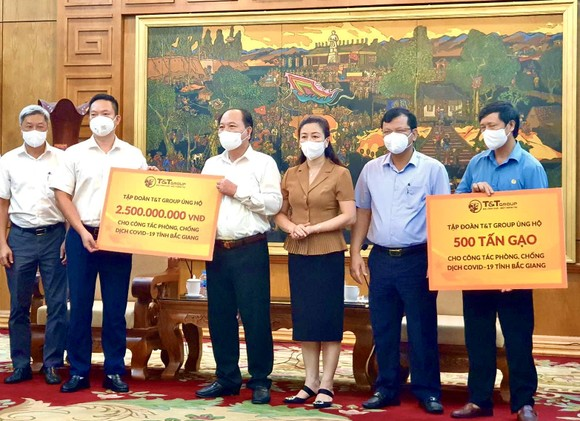 T&T Group ủng hộ 1.000 tấn gạo và 5 tỷ đồng tiếp sức cho Bắc Ninh, Bắc Giang chống dịch ảnh 3